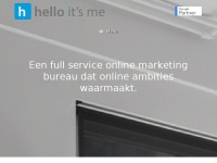 hello it's me | full service online marketing bureau dat online ambities waarmaakt.
