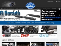 Sscycle.com - Welcome to S&S Cycle! Proven Performance For The Powersports Industry