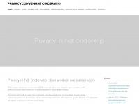 Privacyconvenant onderwijs