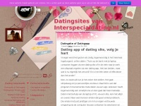 Datingsites van Interspecialdating.nlDatingsites