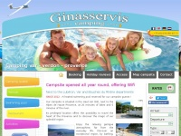 Camping-ginasservis.co.uk - Campsite in the Verdon in Provence (Haut Var - 83) offering mobile homes and swimming pool