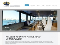 Crownseats.co.uk - Boat Seats, Skipper Chairs, Operator Chairs, Marine Seats