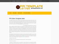 Ppitemplateletter.net - PPI Template Letter | A free PPI Claims Guide