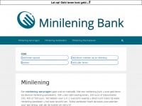 Minilening - Minilening Bank