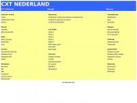 Welkom op de website van CXT.nl