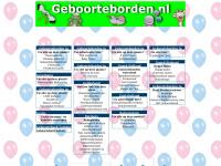 Geboorteborden.nl het complete overzicht voor geboorteborden,geboorteversieringen, 3D ooievaars en nog veel meer borden voor in de tuin
