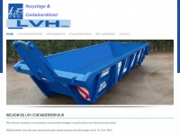 LVH containers, afvalcontainers, containerdienst, afvalophaling ...