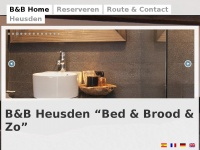 Bed and Breakfast Heusden | B&B Vesting Heusden | Wittebroodstraat
