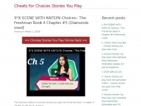 Cheatsforchoicesstoriesyouplay.org - Cheats for Choices Stories You Play