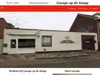 Garageopdekamp.nl - Welkom bij Autocentrum op de kamp - APK service, reparatie, auto onderhoud, automaterialen, banden service, airco service, auto occasions, auto electronica, ruiten service in de omgeving van Landgraag, Parkstad,  Heerle en Kerkrad ..