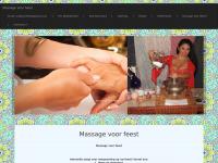 Massage voor feest, hand massage voet massage
