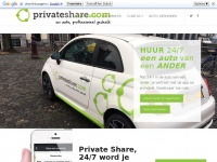 auto huren - private share