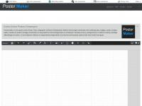 Maak gratis online je posters - PosterMaker.nl