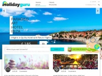 Myholidayguru.co.uk - Cheap Holidays, city breaks, flights & hotels | Myholidayguru