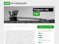 D66hiambacht.nl - Antagonist Placeholder