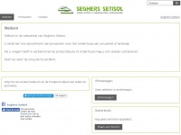 Seghers-setisol-webshop.be