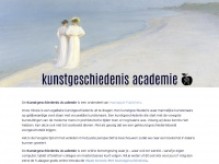 Kunstgeschiedenisacademie.nl - home | Kunstgeschiedenis Academie | The Story of Art Academy