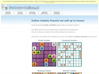 Sudoku-online.nl - Sudoku Puzzel