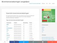 Overzicht brommerverzekeringen - Brommerverzekeringen vergelijken