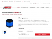 Mini speakers kopen | XKopen - Alle premiums en giveaways in één oogopslag