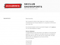 Snowsports.be - Skiclub Snowsports – When snow becomes passion