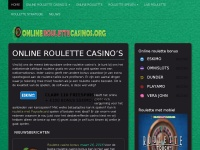 Onlineroulettecasinos.org - Online roulette casino's
