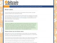 Bitcoincasinosonline.nl - Nederlandse bitcoin casino