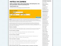Hotelsinzambia.com - Zambia hotel resorts resort: hotels in zambia
