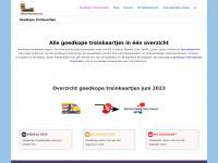 Alle Goedkope Treinkaartjes Mei - Juni 2018: Blokker, HEMA, AH, Kruidvat, NS Spoordeelwinkel