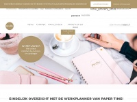 Paper time planner                -          paper-time.nl