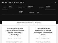 Gambling Holland - News, bonuses and Gamble in Dutch online casino's 2018
