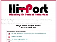 HivPort.nl - Stichting Hiv Portaal Rotterdam - HOME
