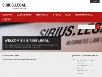 siriuslegaladvocaten.be