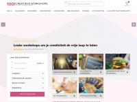 Voor elke creativiteit een workshop! - 1001creatieveworkshops.nl