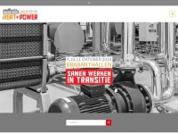 Industrial Heat + Power - 9, 10, 11 oktober 2018 - Brabanthallen - Den Bosch - Industrial Heat + Power