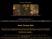 Darkthrone.nl:: Dark Throne RPG