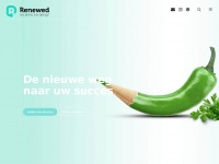 Renewed.be - Renewed - reclame & design