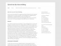 Gerardvanderhorstvastgoed.nl - Gerard van der Horst Holding - Gerard van der Horst Vastgoed
