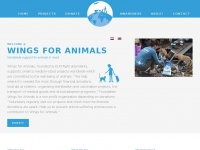 Wings for Animals - With your donation we help many animals in need