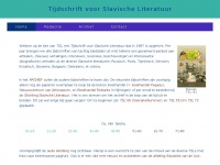 slavischeliteratuur.nl