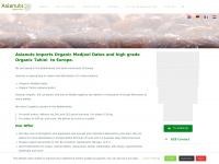 Asianuts.net - Import en verkoop van bio medjoul dadels