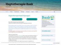 Haptotherapiebaak.nl - Haptotherapie Baak Nijmegen e.o. - Haptotherapie Baak