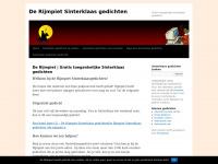 De Rijmpietnl Sinterklaas Gedichten Van De Rijmpiet