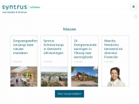 Syntrus investment manager - Syntrus Achmea real estate & finance