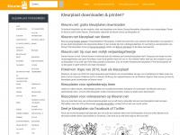 Kleurplaten gratis downloaden en printen, kleur ook online! - Kleuren.net