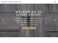 Grandcafedegouverneur.nl - grand café – restaurant de Gouverneur