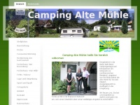 Camping-altemuehle.de - Camping Alte Mühle - Deutsch
