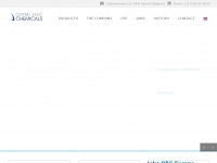 Obc-europe.be - Homepage - Ostend Basic Chemicals nv