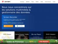 Anymp4.fr - AnyMP4 - Récupérer données iPhone/Android, logiciels vidéo / DVD / Blu-ray
