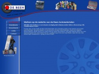 Debeenautomaterialen.nl - De Been Automaterialen in Waalwijk: ruime keus & snelle levering